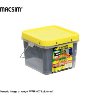 10.0 X 90MM BLACK WINDOW PACKER BUCKET