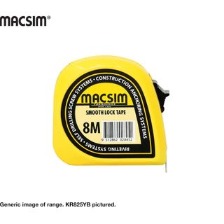 8MX25MM MACSIM TAPE MEASURE