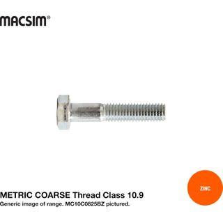 M12 X 100 10.9 CRS H/T B/O ZNC