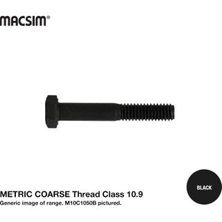 M12 X 25   10.9 COARSE H/T B/O