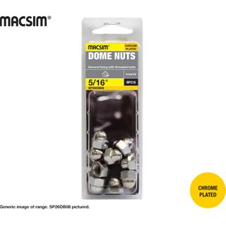 1/4 CHROME DOME NUTS SP