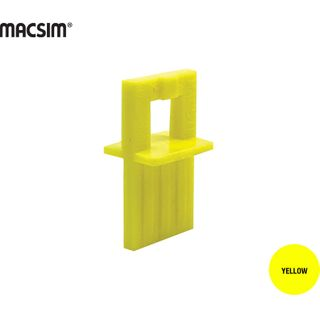 DECK SPACER  FOR WOOD DECKS 4MM YELLOW