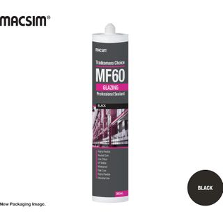 MF60 GLAZING SILICONE MATT BLACK