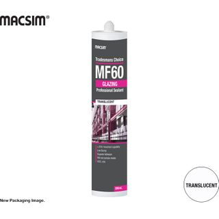 MF60 GLAZING SILICONE TRANS