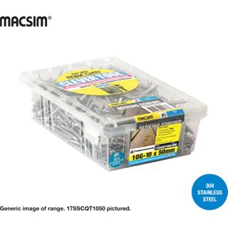 8-9x50MM SEH TRIM SS DECK SCR