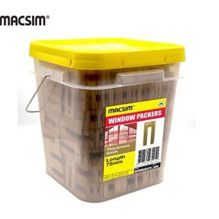 3.2MMx75MM GREEN WINDOW PCK BIG BUCKET