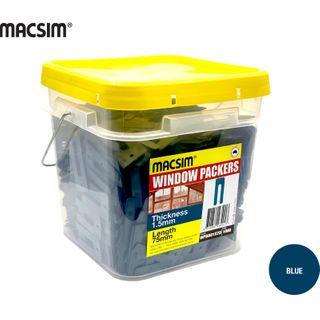 1.5MMx75MM BLUE WINDOW PCK BIG BUCKET