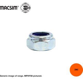 M12 M/FNE 1.25.P NYL INS NUT