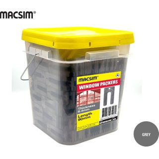 6.4 X 90MM GREY WINDOW PCK BIG BUCKET