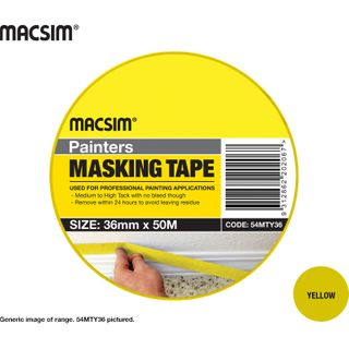 PAINTERS MASKING TAPE 36mm Y