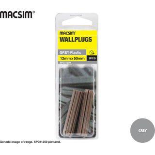 50mm WALLPLUG GREY SP