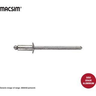 3.2 x12.7mm ALL ALUMINIUM RIVET