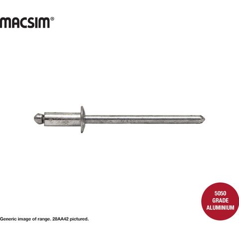 4.8 x9.6mm ALLALUMINIUM RIVET