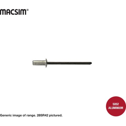 4.8x6.4mm SEALED ALUM/ST RIVET