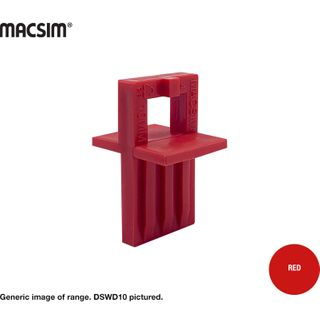 DECK SPACER  FOR WOOD DECKS 10MM RED. BP