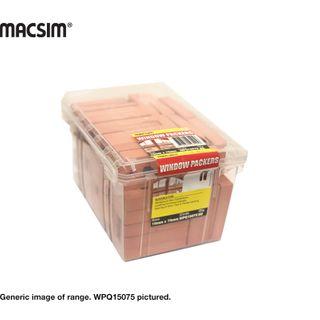 15MM X 75MM ORANGE WINDOW PACKER Q PK