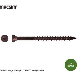 8 X 65MM CSK TRIM DECK SCR EM