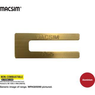 5.0X90MM GOLD ALUM WINDOW PACKER  J PK