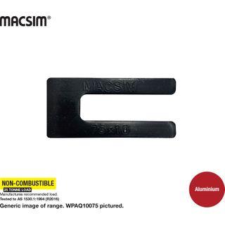 10.0X75MM BLACK ALUM WINDOW PACKER  Q PK