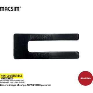 10.0X90MM BLACK ALUM WINDOW PACKER  Q PK