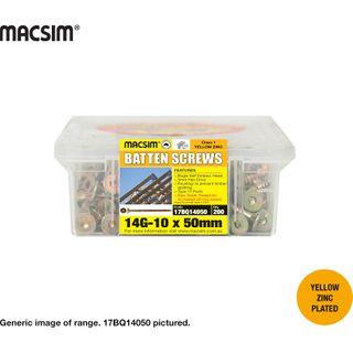 14x100ZP BATTEN SCREW  Q/PK150