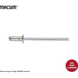 4mmx9.6mm CSK ALUM/STEEL RIVET