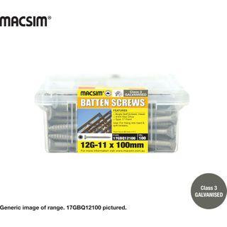 12-11x75 Gl Battern Screw Q Pack