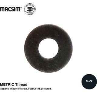 3/8 M10 F/WSH BLK LGE O/D 24mm
