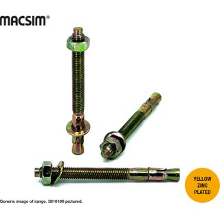 16mm x 100mm WEDGE ANCHOR