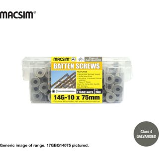 14-10x75 Gl Battern Screw Cl.4
