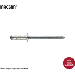 3.2 x8.2mm MULTIGRIP A/S RIVET