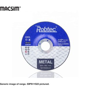 125MM ROBTEC SLIM METAL C/O