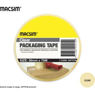 48mm x 75mm Clear Packing Tape