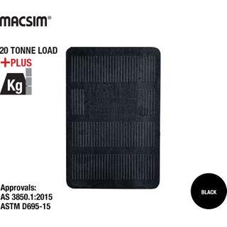 150x100x10 BLACK PANEL SHIM
