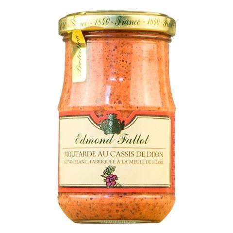 Fallot Blackcurrant  Mustard 210g