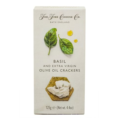 Crackers Basil/Extra Virgin OliveOil125g