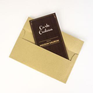Maison Vauron Gift Voucher $100