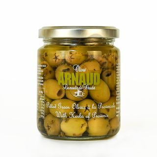 Arnaud Provencal Pitted Green Olive with Herbs 130g