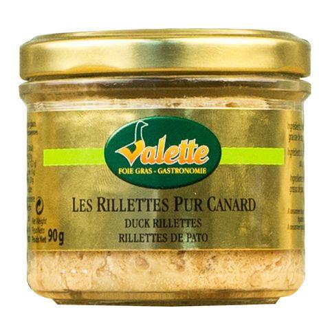 Valette Rillettes Canard 90g