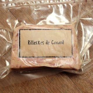 Rillette de canard et foie gras - 100g