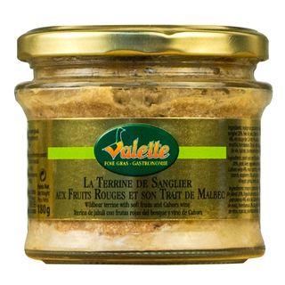 Valette Sanglier/Terrine aux Fruits 180g