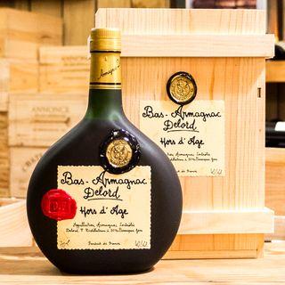 Bas Armagnac Hors d'Age 700ml (wooden box)