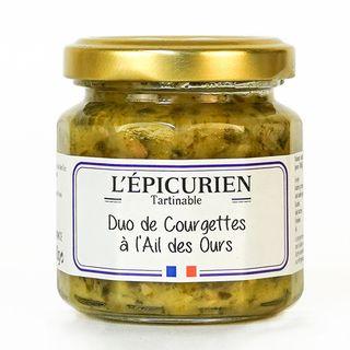 L'Epicurien Zucchini Duet & Ail des Ours 100g