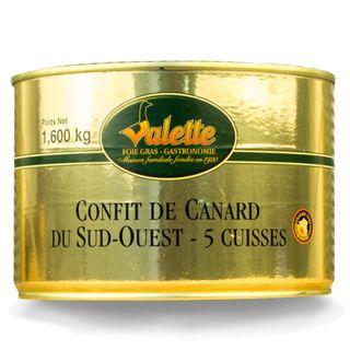 Valette Confit de Canard 5 leg