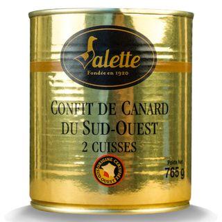 Valette Confit de Canard 2 leg