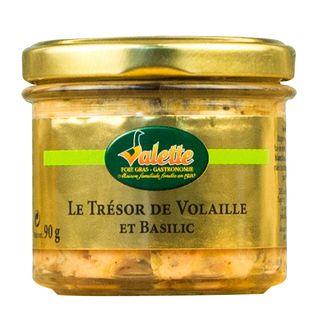 Valette Terrine Volaille Et Basilic 90g
