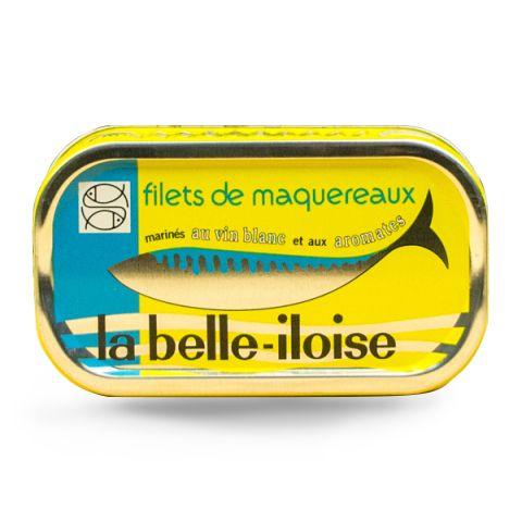 Belle Iloise Mackerel White Wine118g