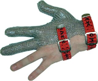 Fabric Band Chainex 3-Finger Mesh Glove