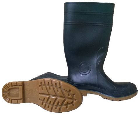 Job Master Safety Gumboots Green