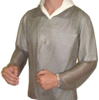 Long Sleeve Mesh Shirt